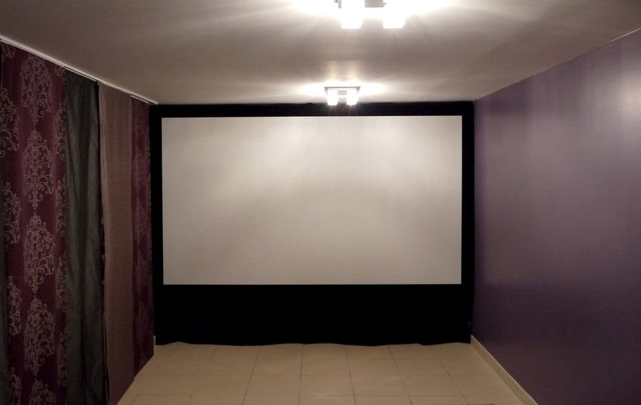 Salle Dediee Home Cinema De Jebhakama Cine Screen Fr