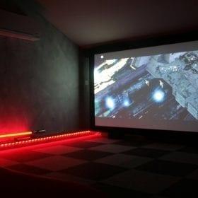 Salle dédiée home cinema de Dark Noon-1