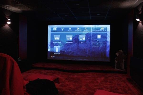 Salle dédiée home cinema de Thierry Chevalier-1